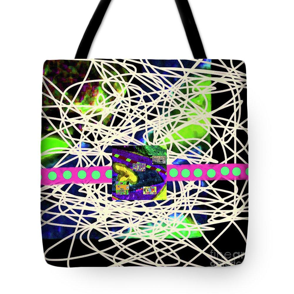 Walter Paul Bebirian Tote Bag featuring the digital art 7-2-2015babcdefghijklmnopqrtuvwxyzabc by Walter Paul Bebirian