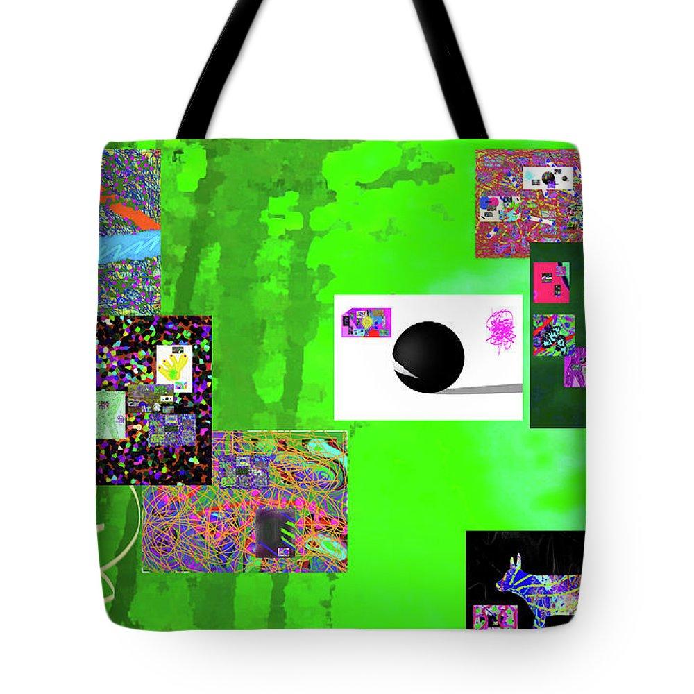 Walter Paul Bebirian Tote Bag featuring the digital art 7-30-2015fab by Walter Paul Bebirian