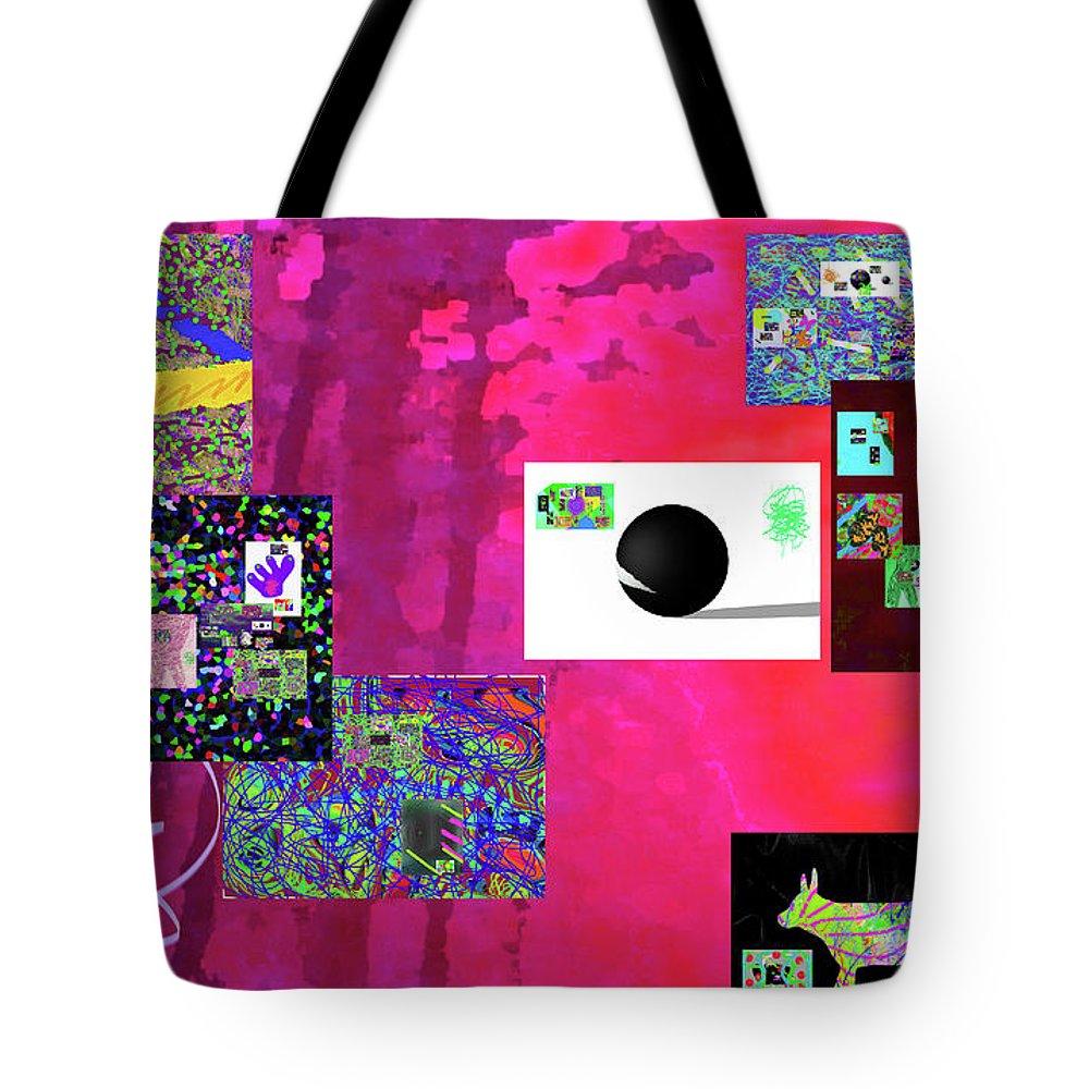 Walter Paul Bebirian Tote Bag featuring the digital art 7-30-2015fabcdefghijklmnopq by Walter Paul Bebirian