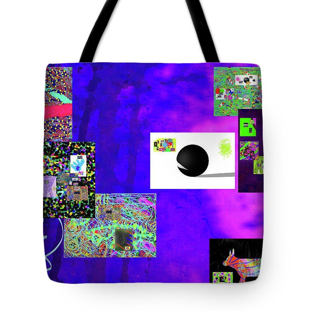 Walter Paul Bebirian Tote Bag featuring the digital art 7-30-2015fabcdefghijklmnopqrtuvwxy by Walter Paul Bebirian