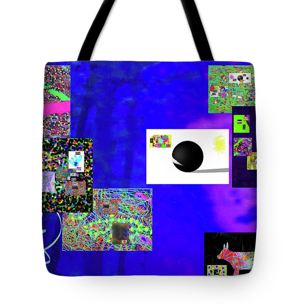 Walter Paul Bebirian Tote Bag featuring the digital art 7-30-2015fabcdefghijklmnopqrtuvwxyza by Walter Paul Bebirian