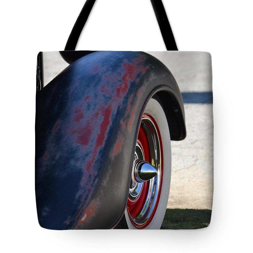 Tote Bag featuring the photograph Classic Ford Pickup by Dean Ferreira