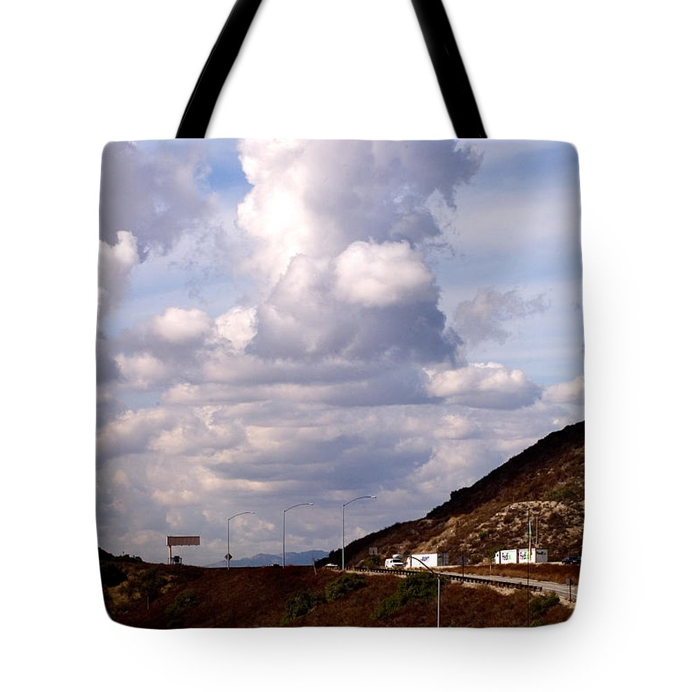 Clay Tote Bag featuring the photograph Clouds by Clayton Bruster