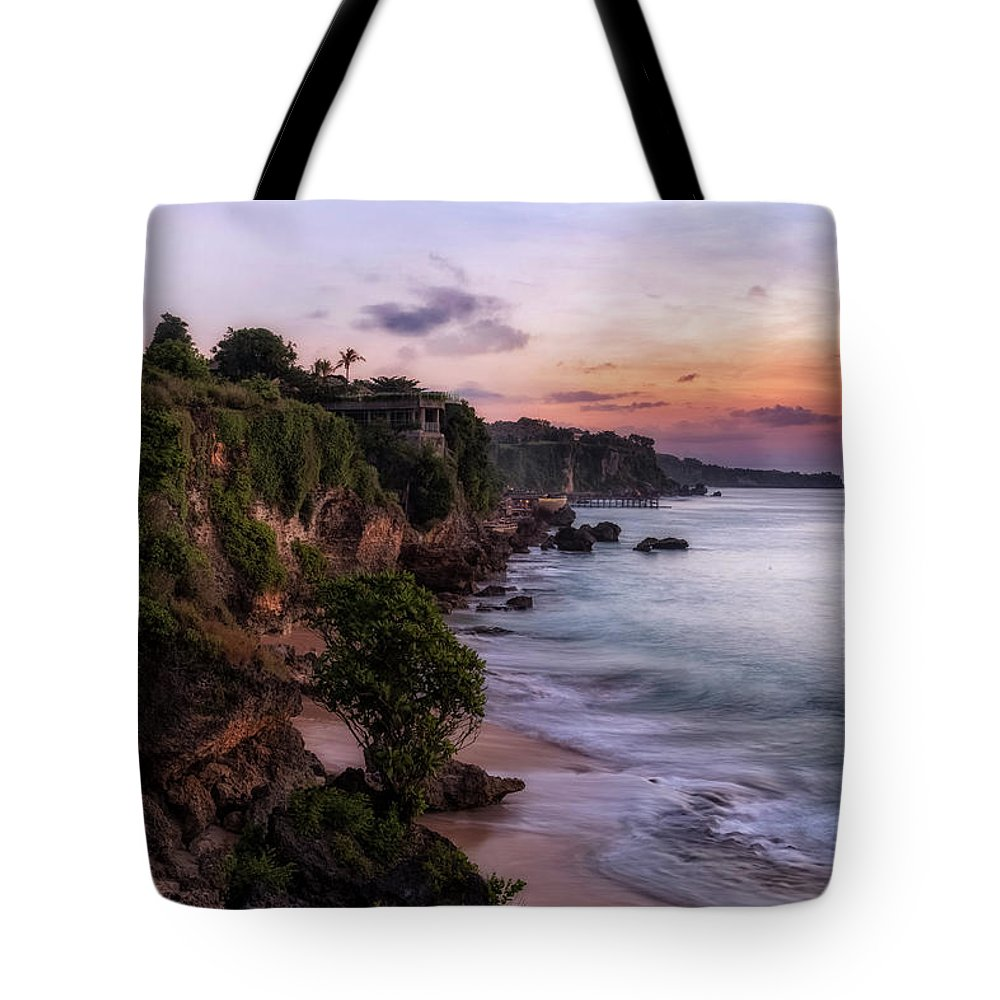 Tegal Wangi Beach Tote Bag featuring the photograph Tegal Wangi - Bali by Joana Kruse