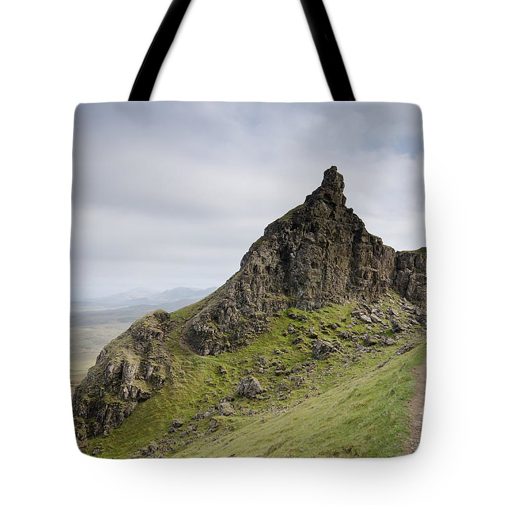 Quiraing Scotland Tote Bag featuring the photograph The Quiraing by Smart Aviation