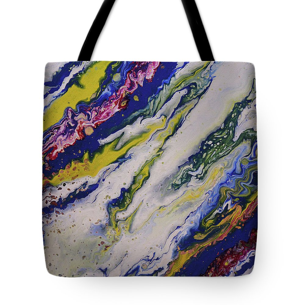 Tote Bag featuring the painting Untitled by Joe Fomby