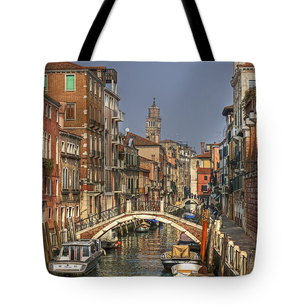Architecture Tote Bag featuring the photograph Venice - Italy by Joana Kruse