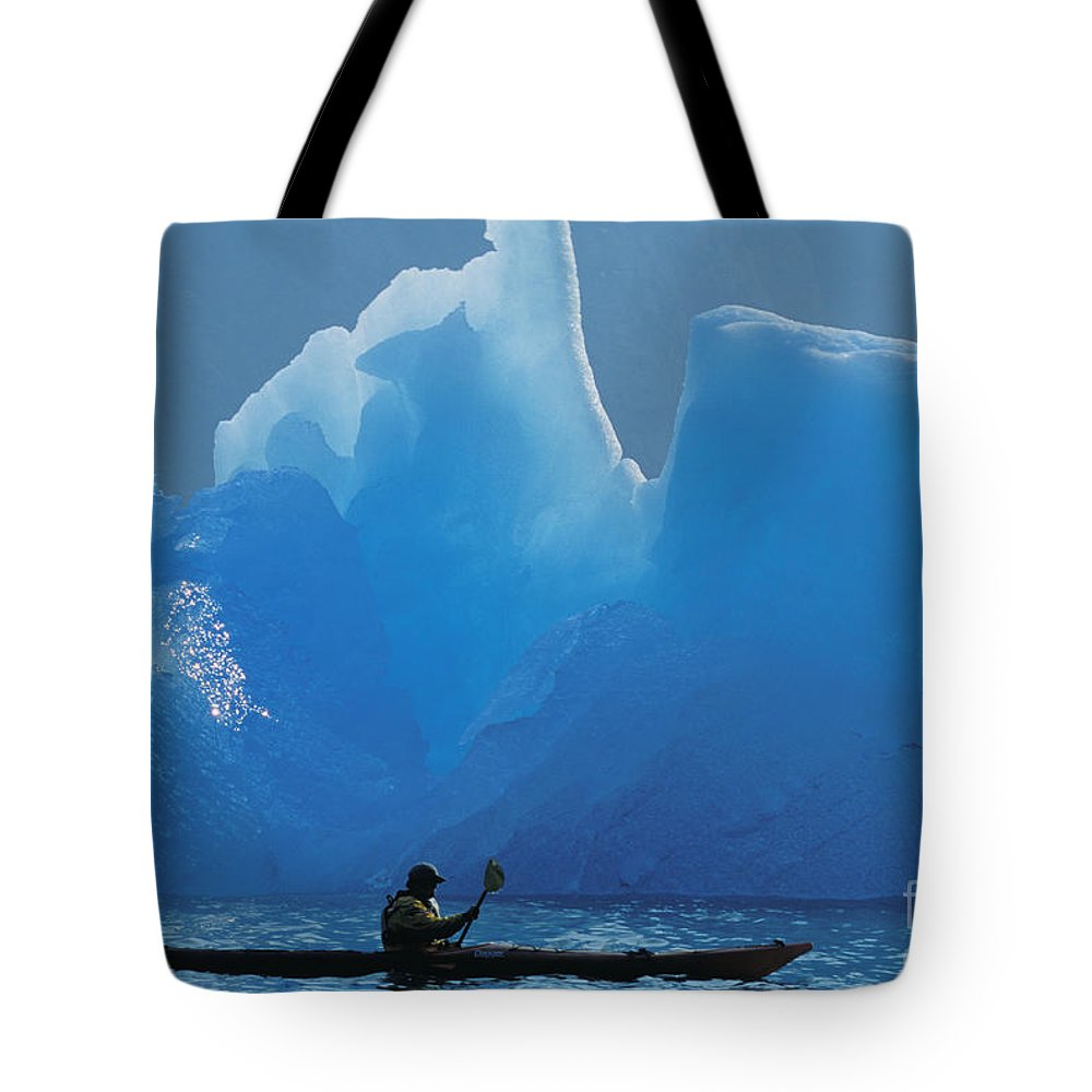 Adventure Tote Bag featuring the photograph View Of Alaska by John Hyde - Printscapes
