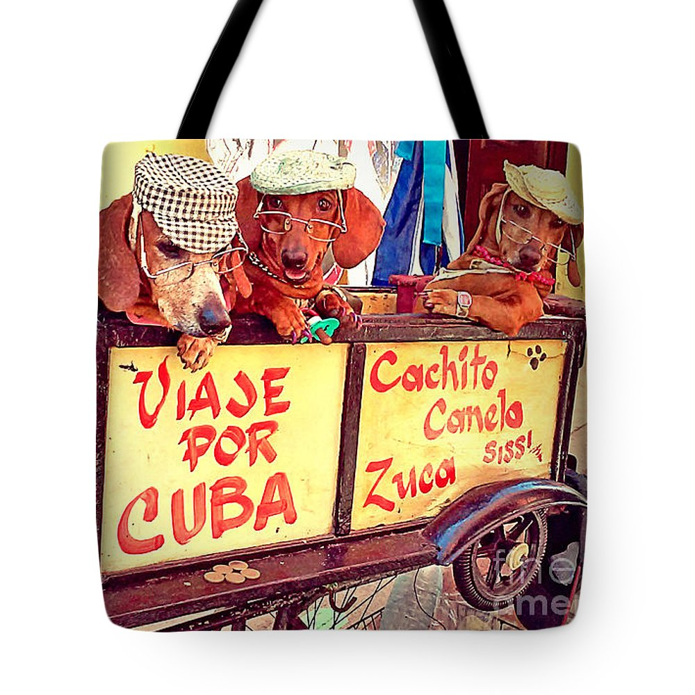 Havana Tote Bag featuring the photograph Havana, Cuba by Chris Andruskiewicz