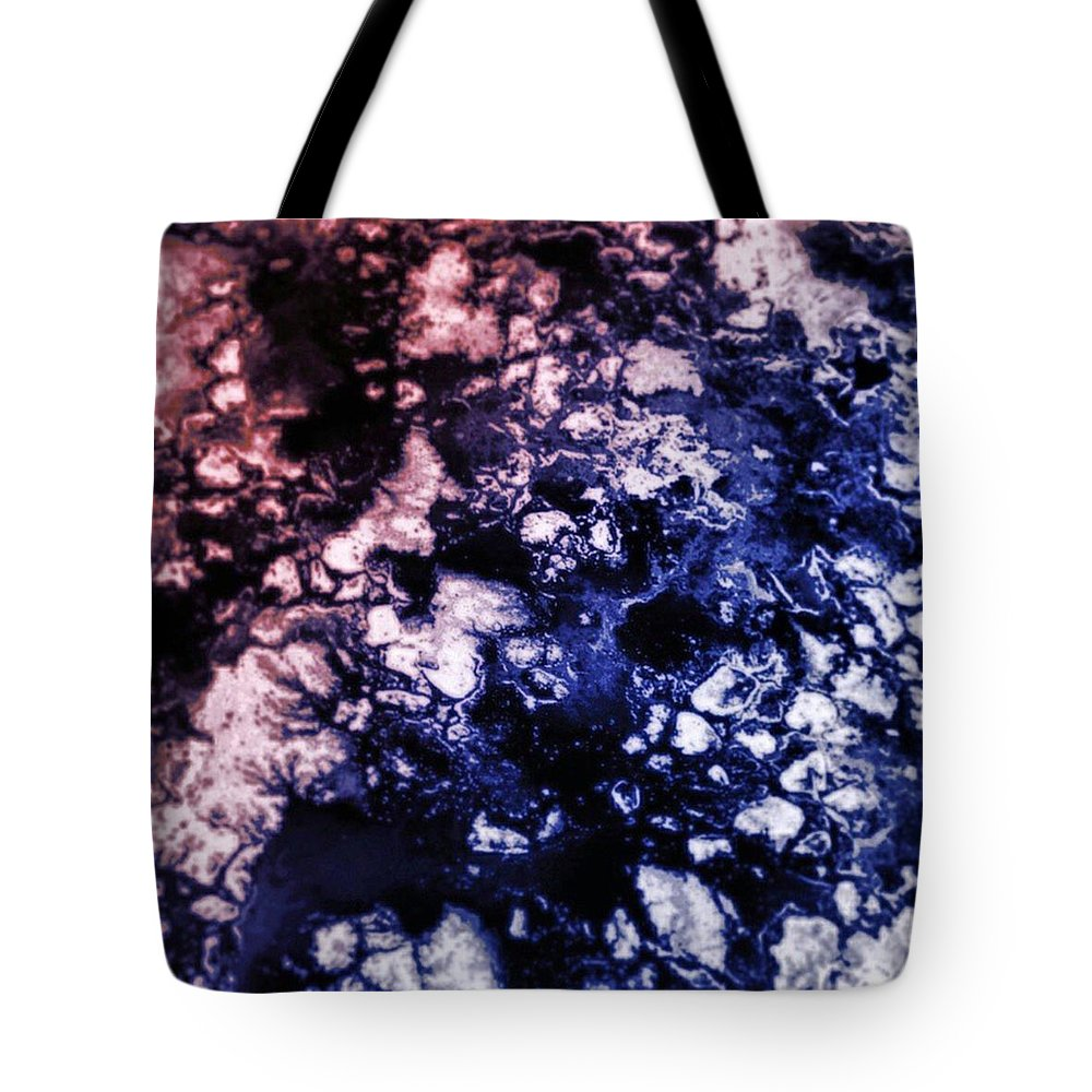 Beautiful Tote Bag featuring the photograph #abstract #art #abstractart by J Love