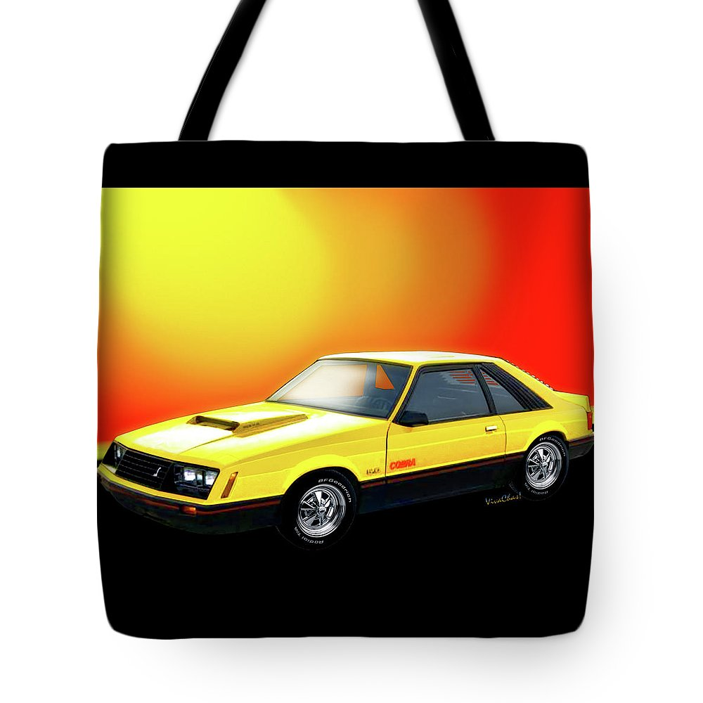 79 Ford Mustang Cobra Third Generation 79-93 Tote Bag for Sale by ...
