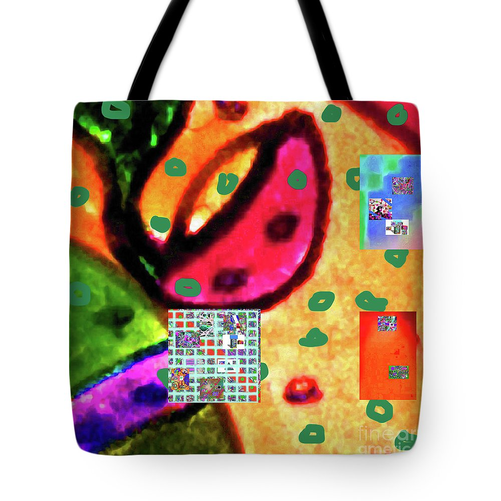 Walter Paul Bebirian Tote Bag featuring the digital art 8-3-2015cabcdefghijklmnopqrtuvwxyzabcdef by Walter Paul Bebirian