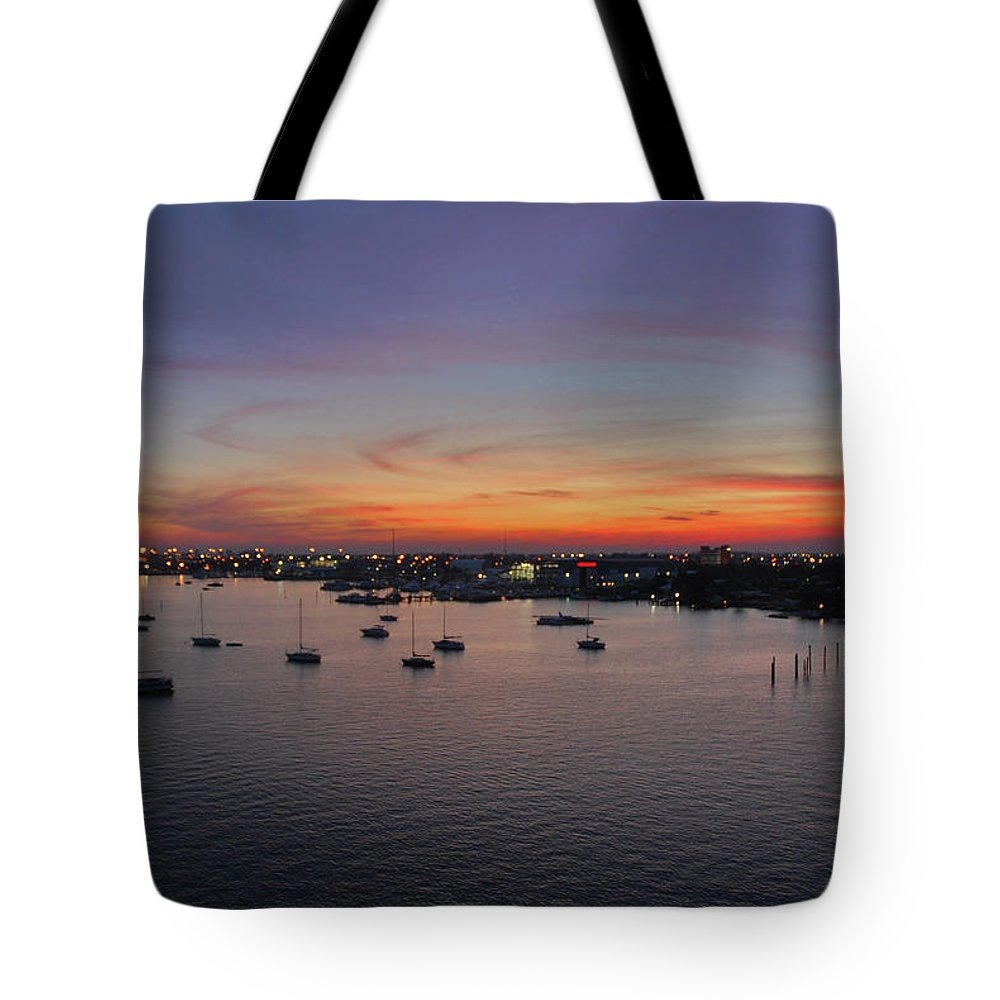 Sunset Tote Bag featuring the photograph 8- Ahhhhh by Joseph Keane