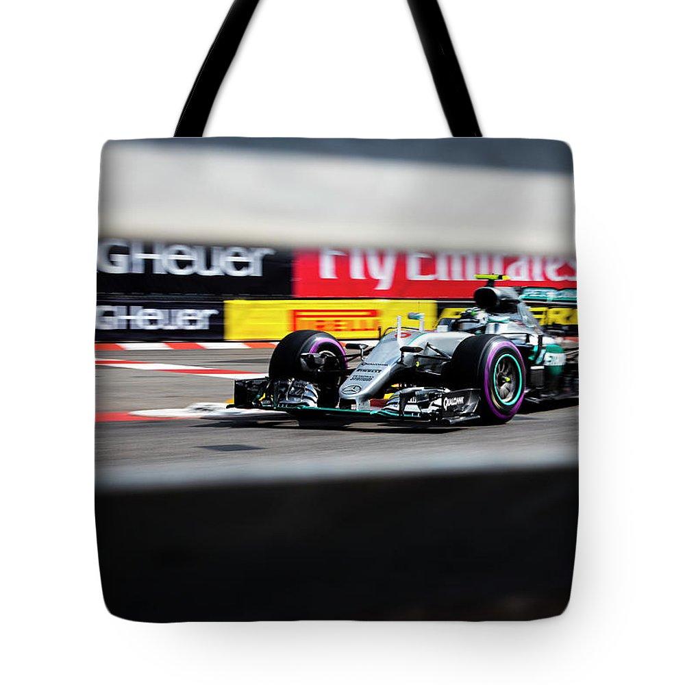 Monaco Tote Bag featuring the photograph Formula 1 Monaco Grand Prix 2016 by Srdjan Petrovic