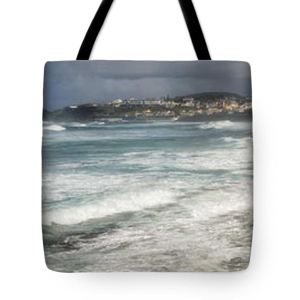 Architecture Tote Bag featuring the photograph Landscapespanoramas by Joseph Amaral