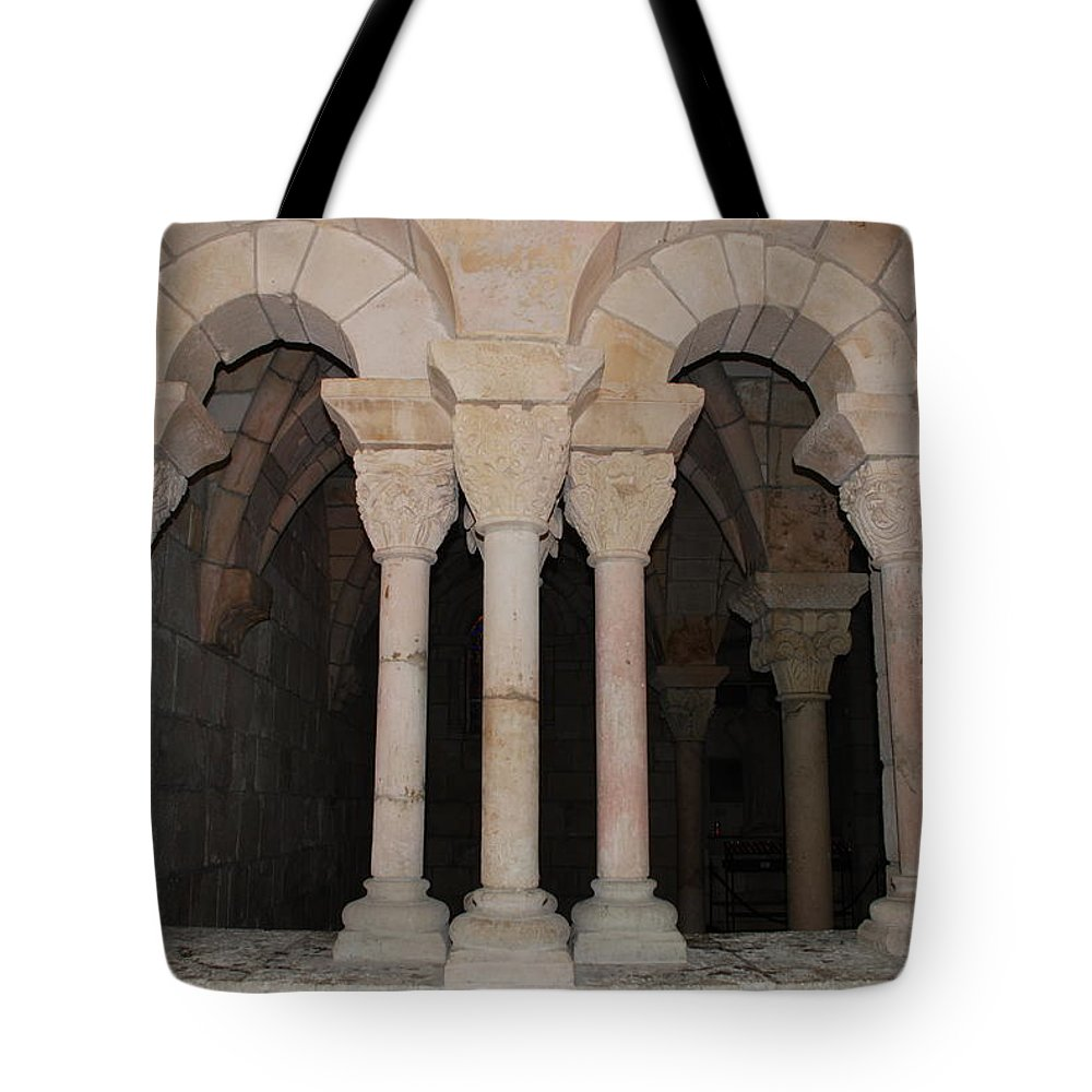 Arches Tote Bag featuring the photograph Miami Monastery by Rob Hans