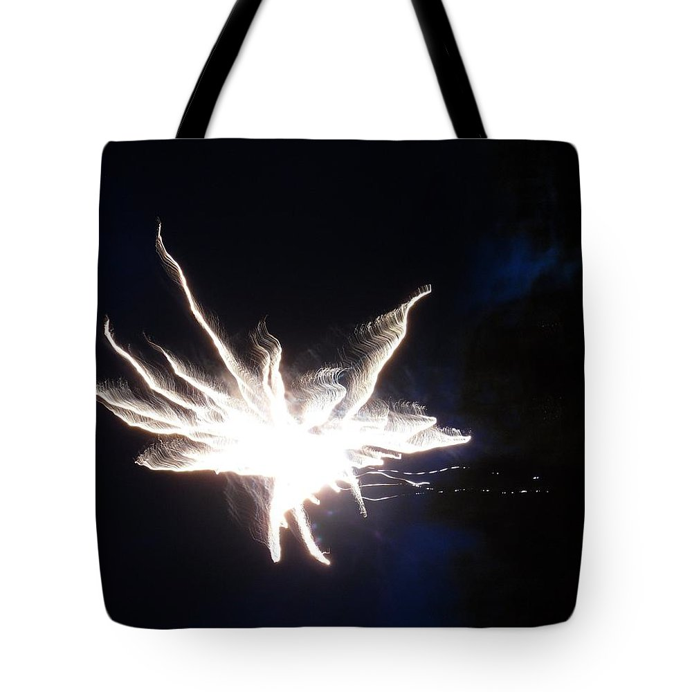 Star Tote Bag featuring the photograph Entering The Twilight Zone by Faba Fouret