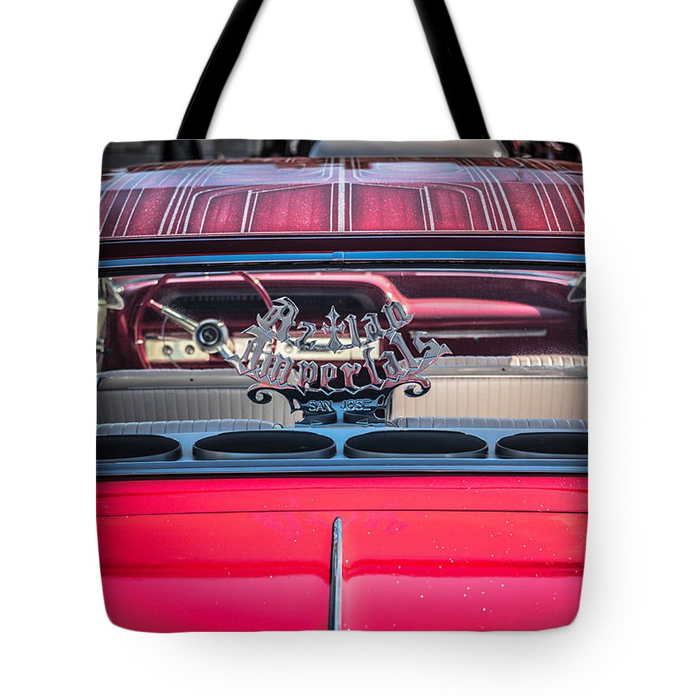 San Francisco Low Riders Tote Bag featuring the photograph Sf Low Riders by Jayasimha Nuggehalli
