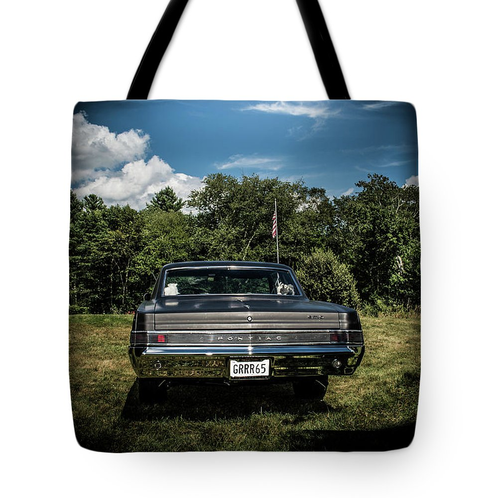 Classic Tote Bag featuring the photograph Classic Cars by Mickie Bettez
