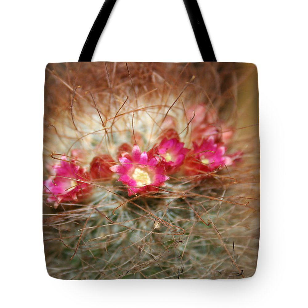Flowers Nature Tote Bag featuring the photograph A Beautiful Blur by Linda Sannuti