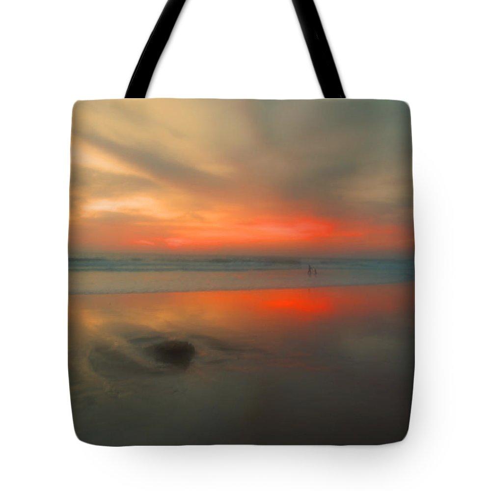 Beach Tote Bag featuring the photograph A Beautiful Blur by Tara Turner