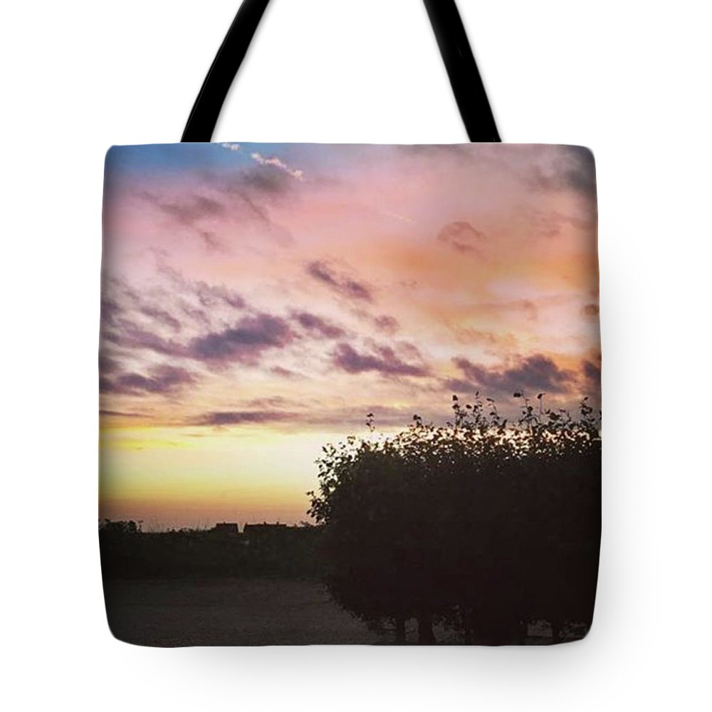 Norfolklife Tote Bag featuring the photograph A Beautiful Morning Sky At 06:30 This by John Edwards