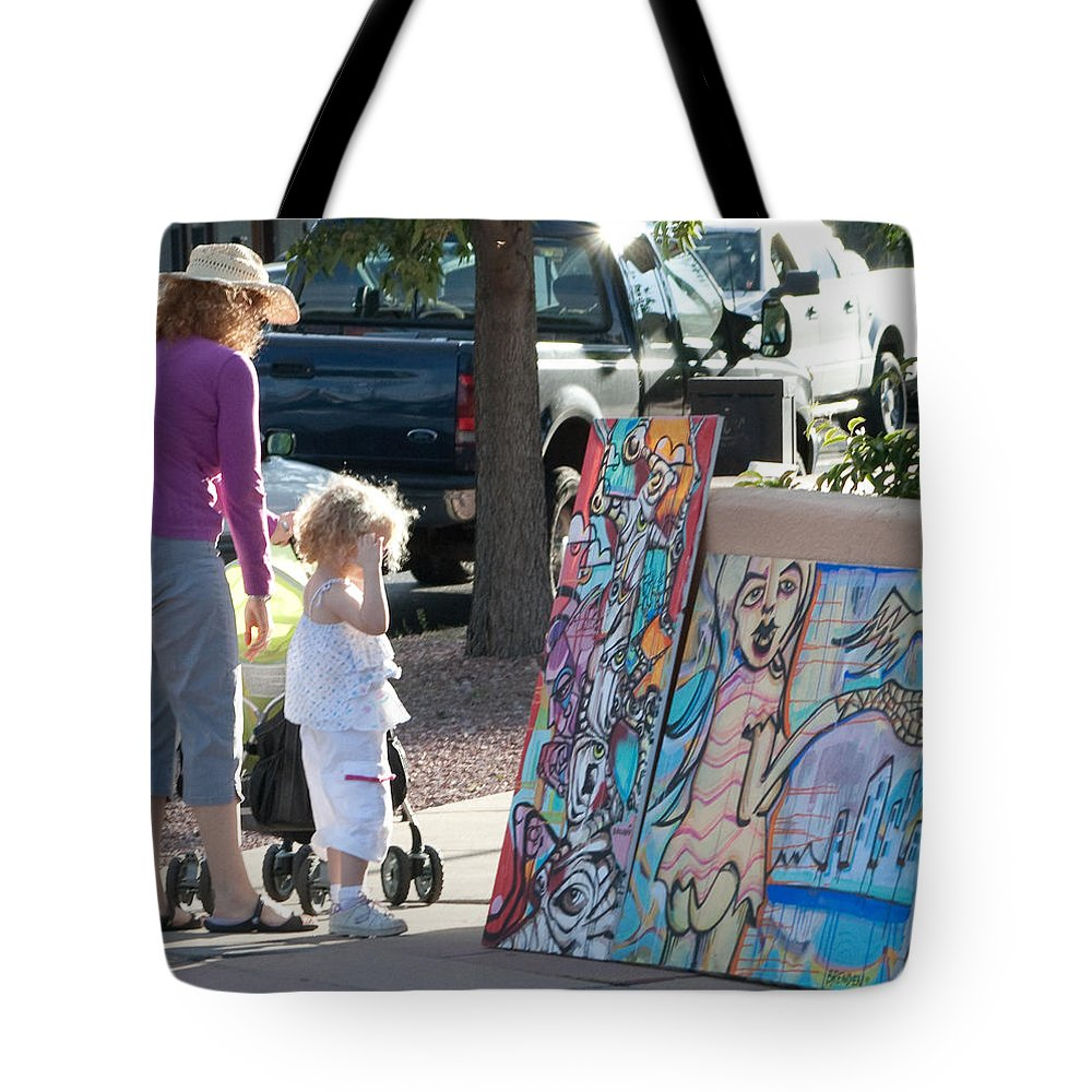 Paintings Tote Bag featuring the photograph A Child's Eye by Angus Hooper Iii