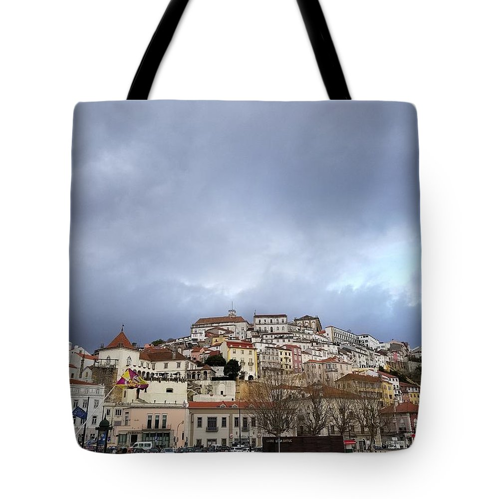 Tote Bag featuring the photograph A City Portrait by Sanchit Sharda