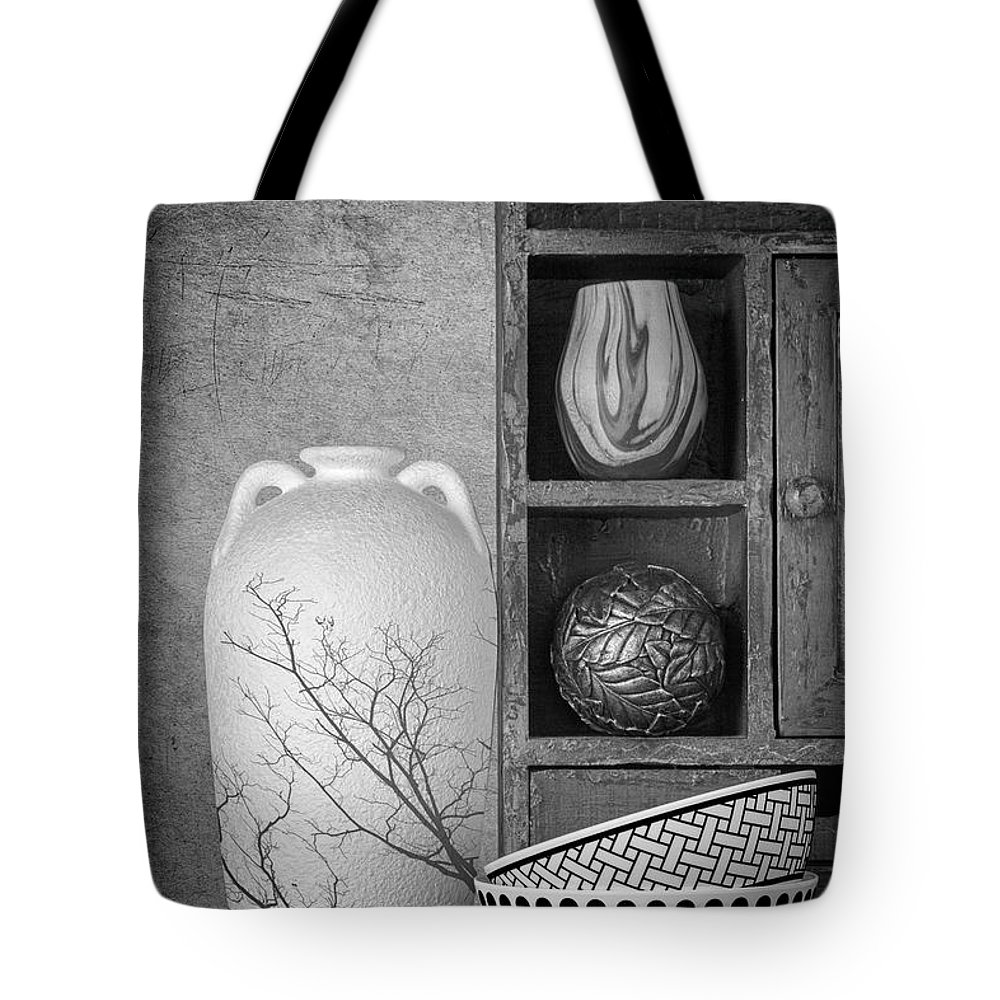 Art Tote Bag featuring the photograph A Corner Of The Kitchen by Tom Mc Nemar