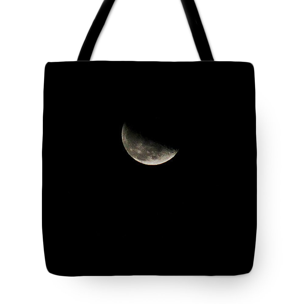 Nature Tote Bag featuring the photograph A Dark Moon by Michelle Williamson