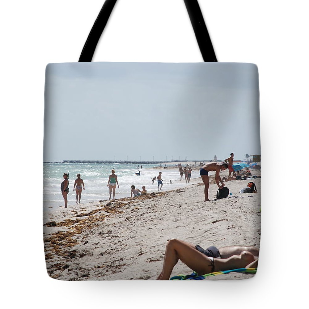 Nude Tote Bag featuring the photograph A Day At Paradise Beach by Rob Hans