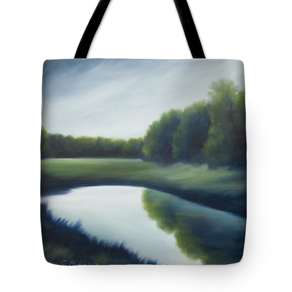 Clouds Tote Bag featuring the painting A Day In The Life 2 by James Christopher Hill
