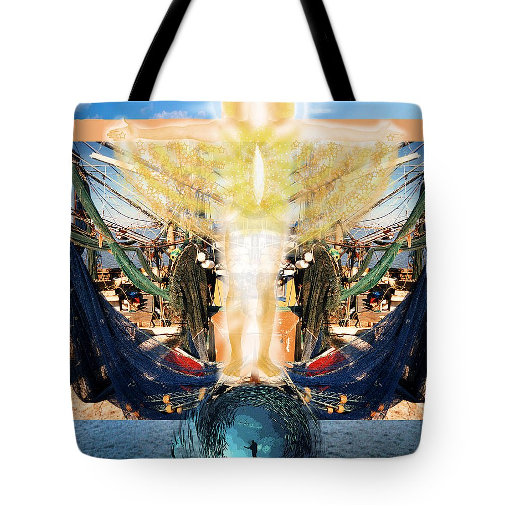 Gulf Tote Bag featuring the photograph A Day Of Prayer For The Gulf by Anne Cameron Cutri