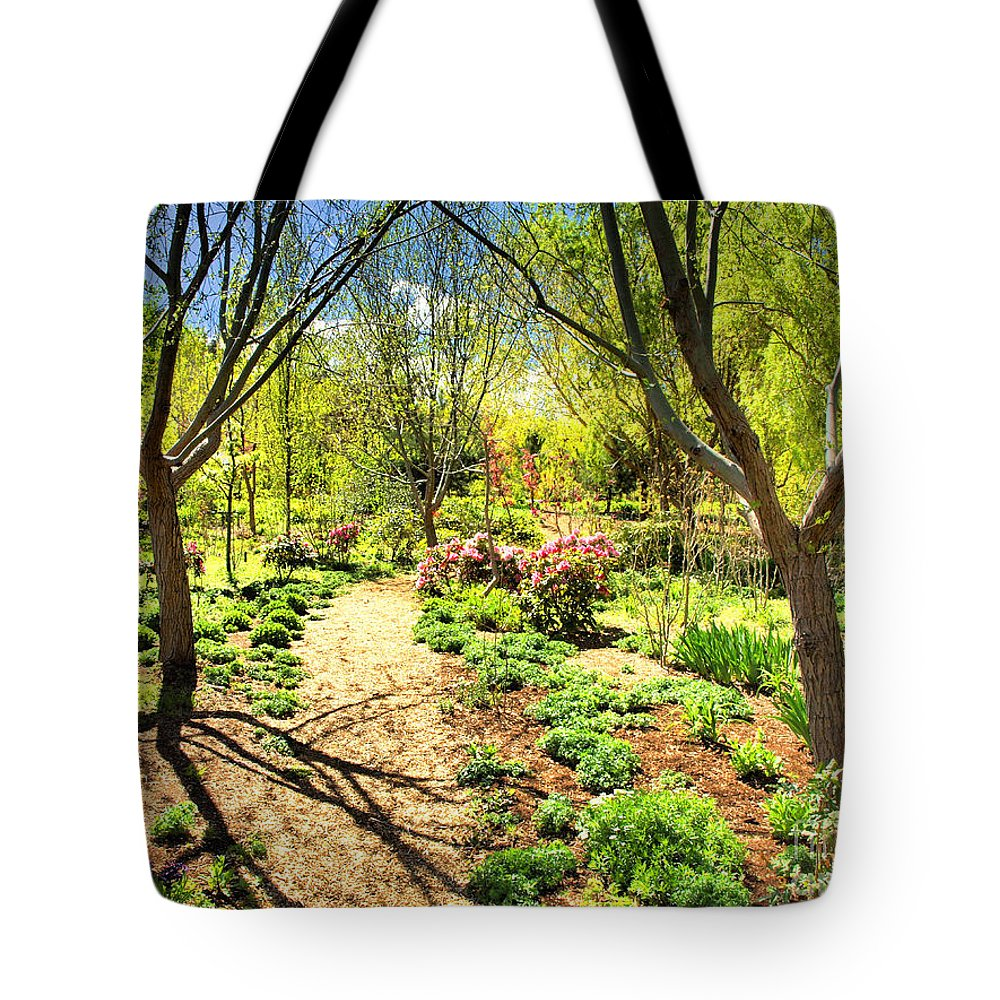 Spring Tote Bag featuring the photograph A Dose Of Spring by Tara Turner
