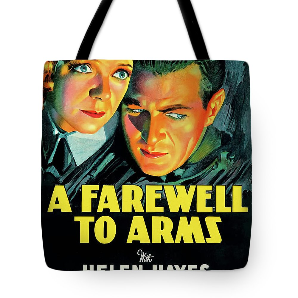 Movie Tote Bag featuring the mixed media A Farewell To Arms 1932 by Mountain Dreams