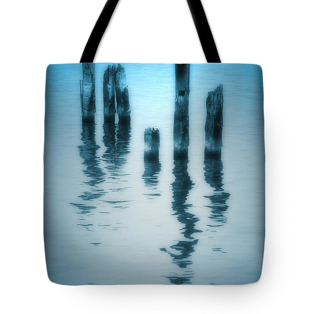 Blue Tote Bag featuring the photograph A Fleeting Blue by Tara Turner