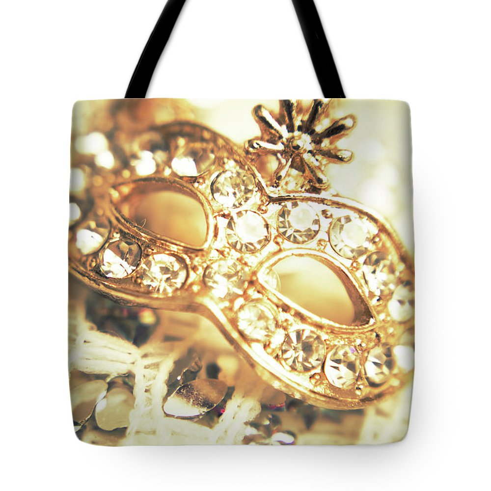 Gold Tote Bag featuring the photograph A Golden Occasion by Jorgo Photography - Wall Art Gallery