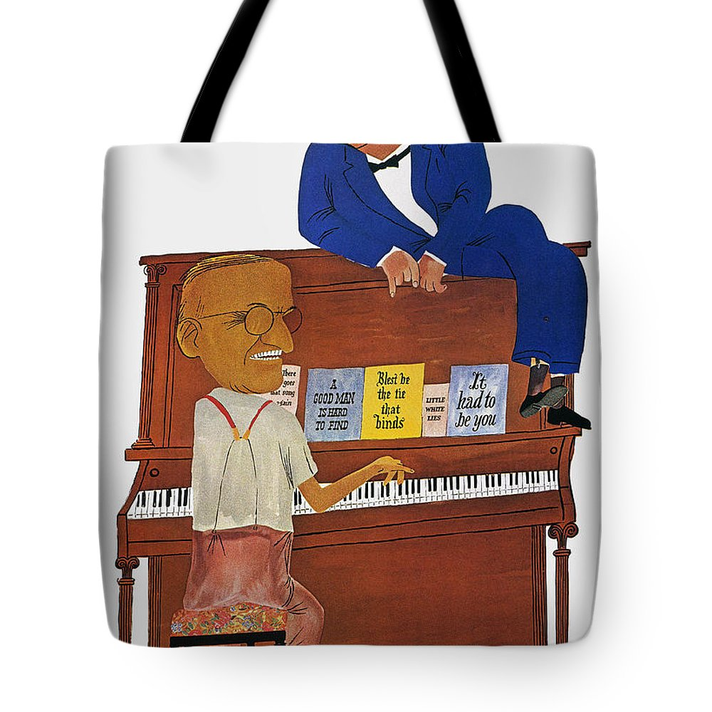 1948 Tote Bag featuring the photograph A Good Man Is Hard To Find by Granger