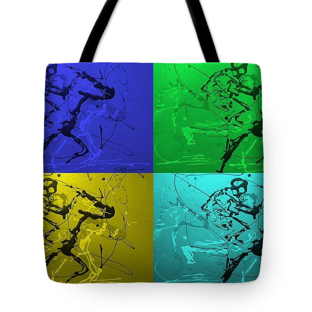 Horses Tote Bag featuring the photograph A Great Day In kentucky by J R Seymour