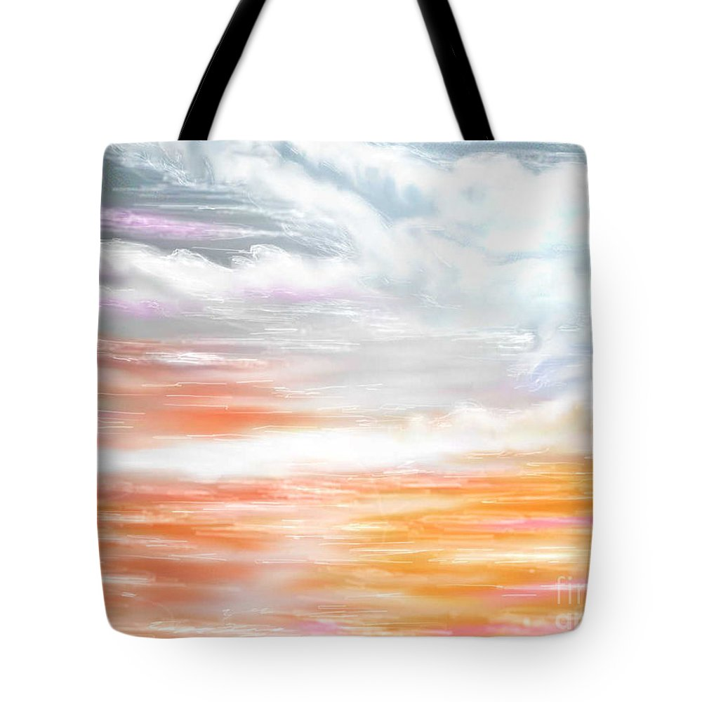 Inspirational Art Tote Bag featuring the digital art A Light Unto My Path by Brenda L Spencer