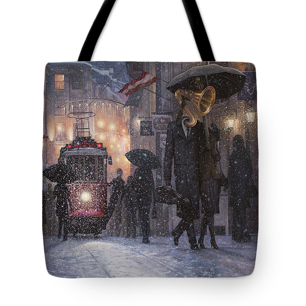 Double Bass Tote Bags