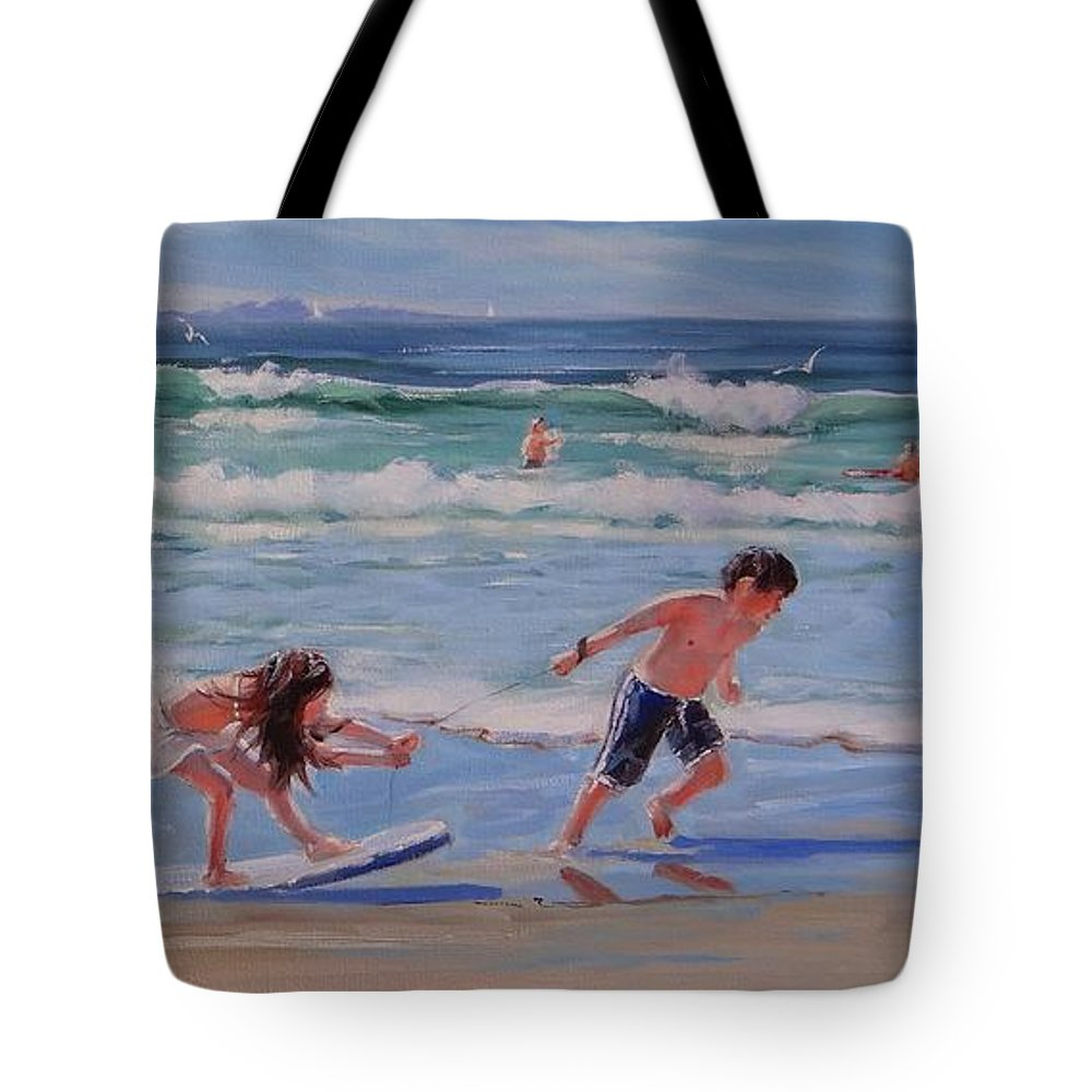 Oil Painting Tote Bag featuring the painting A Moment In Time by Laura Lee Zanghetti