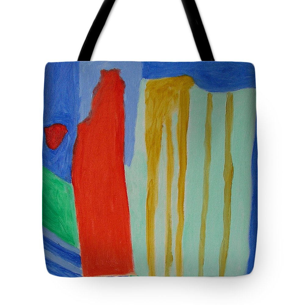 Spiritual Tote Bag featuring the painting A New Beginning by Harris Gulko