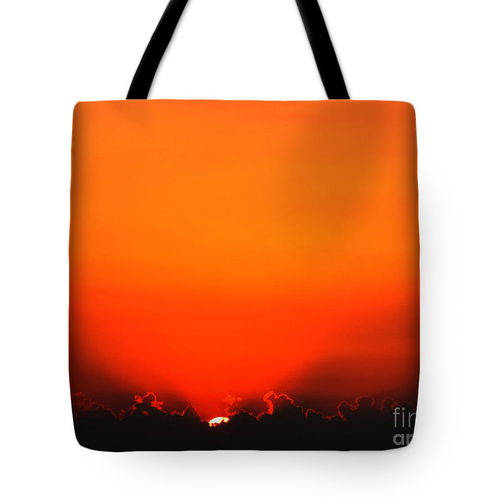 Sun Tote Bag featuring the photograph A New Day by Amanda Barcon