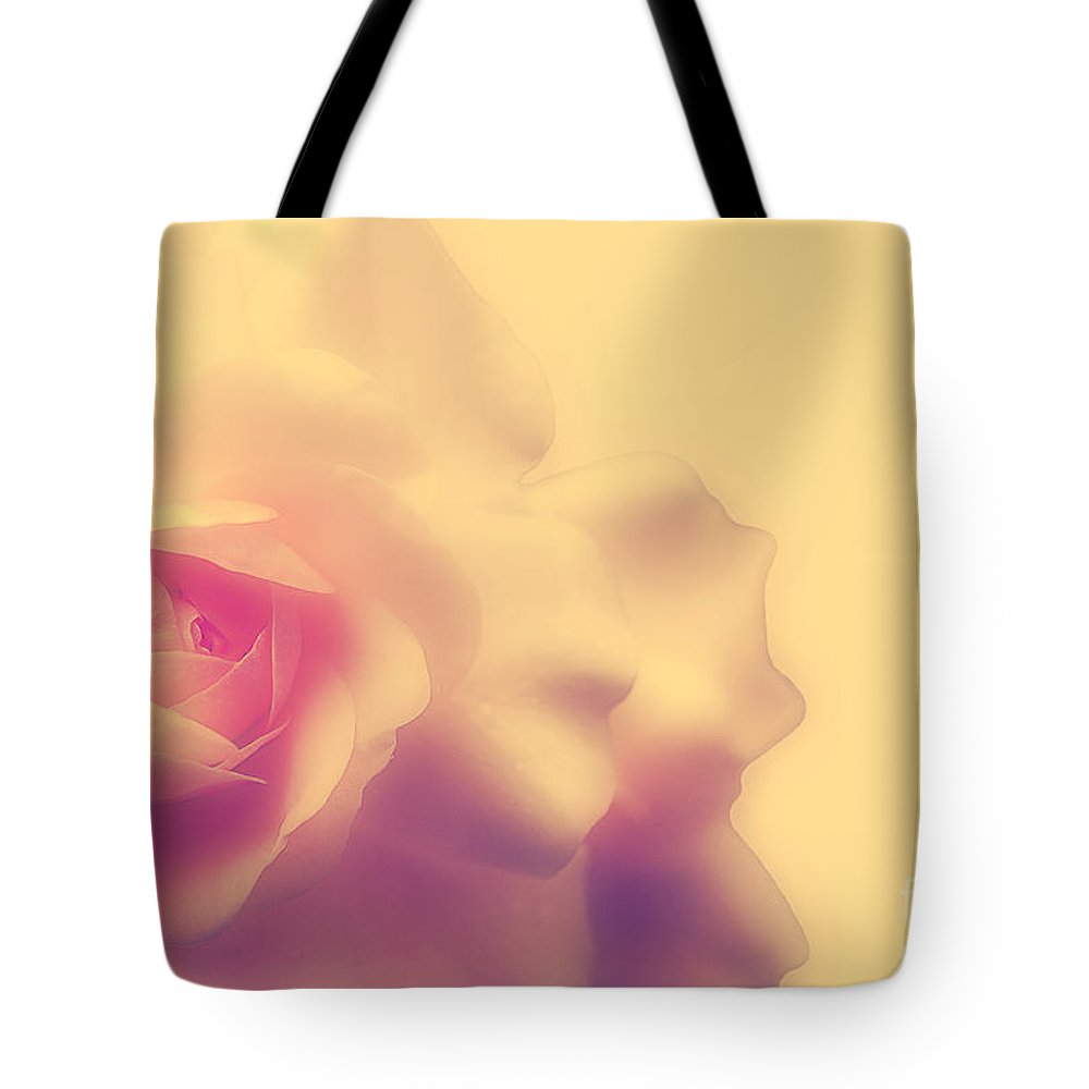 Rose Tote Bag featuring the photograph A New Day by Lois Bryan