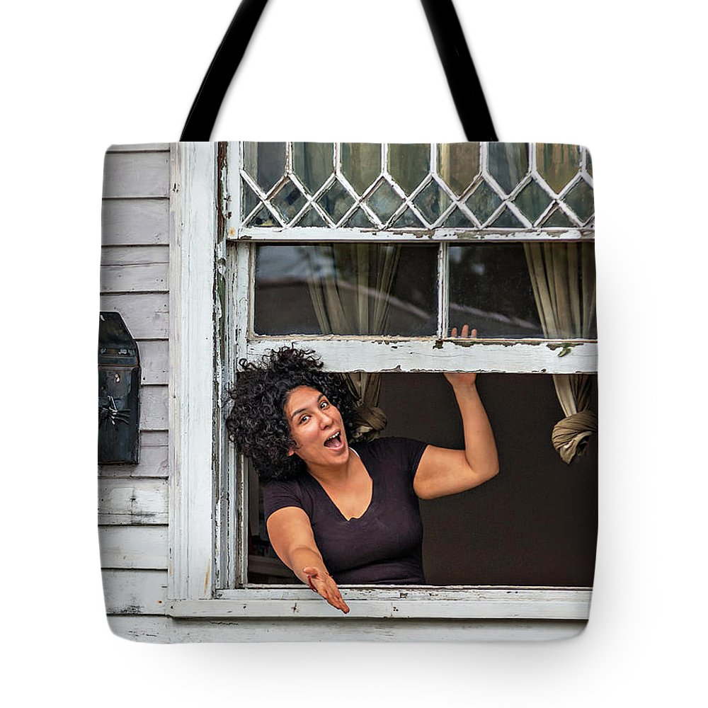 New Orleans Tote Bag featuring the photograph A New Orleans Greeting by Steve Harrington