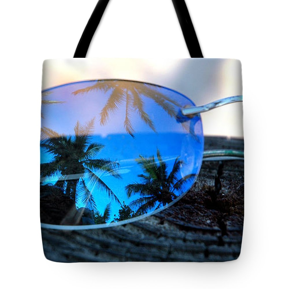 Sunglasses Tote Bag featuring the photograph A Nice Dream by Susanne Van Hulst