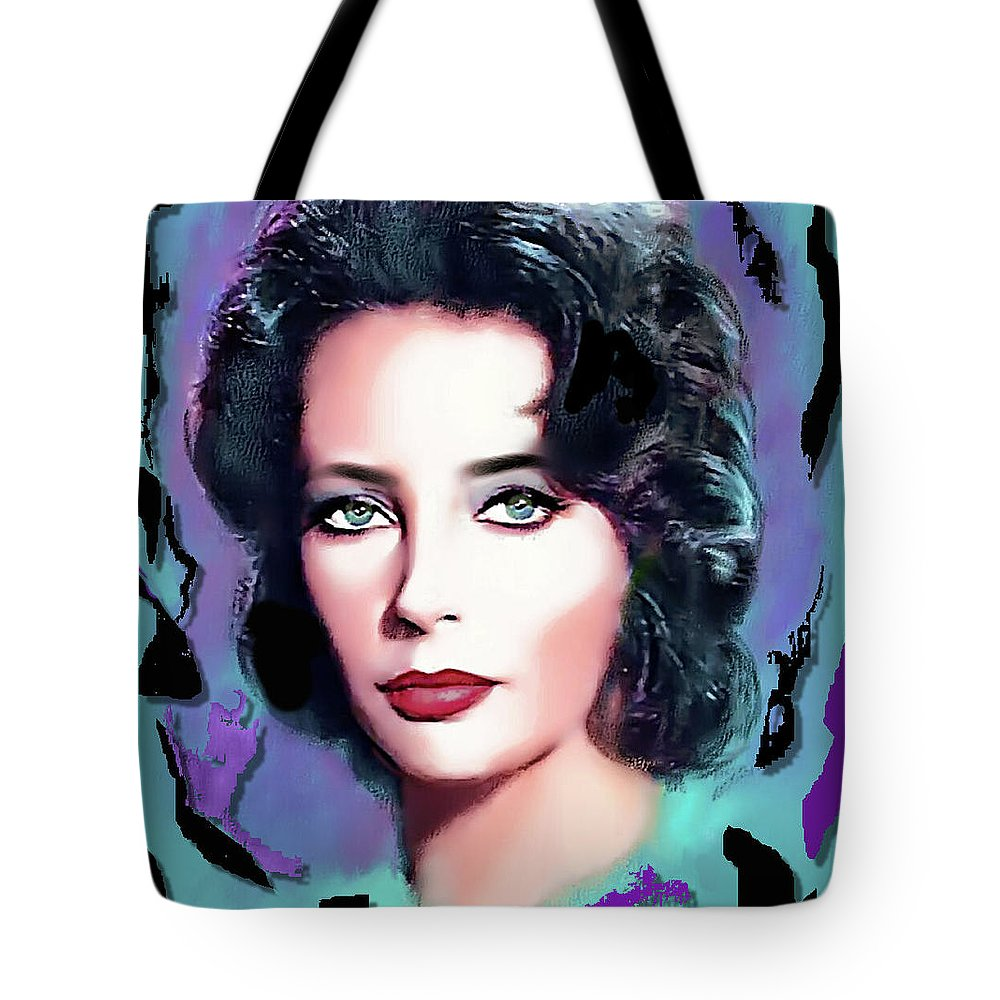 Film Tote Bag featuring the digital art A Real Friend by Karen Showell