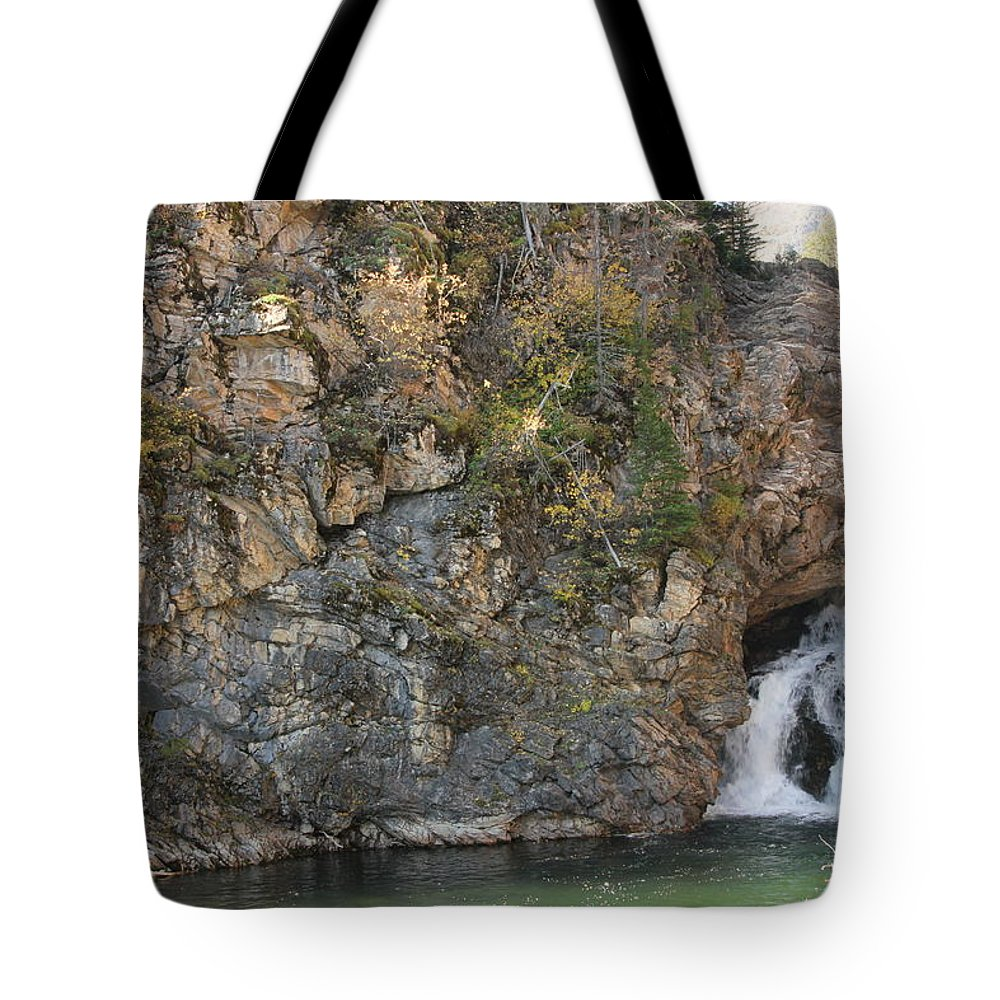 Tote Bag featuring the photograph A Rocky Flow by Mitchell Blasdell