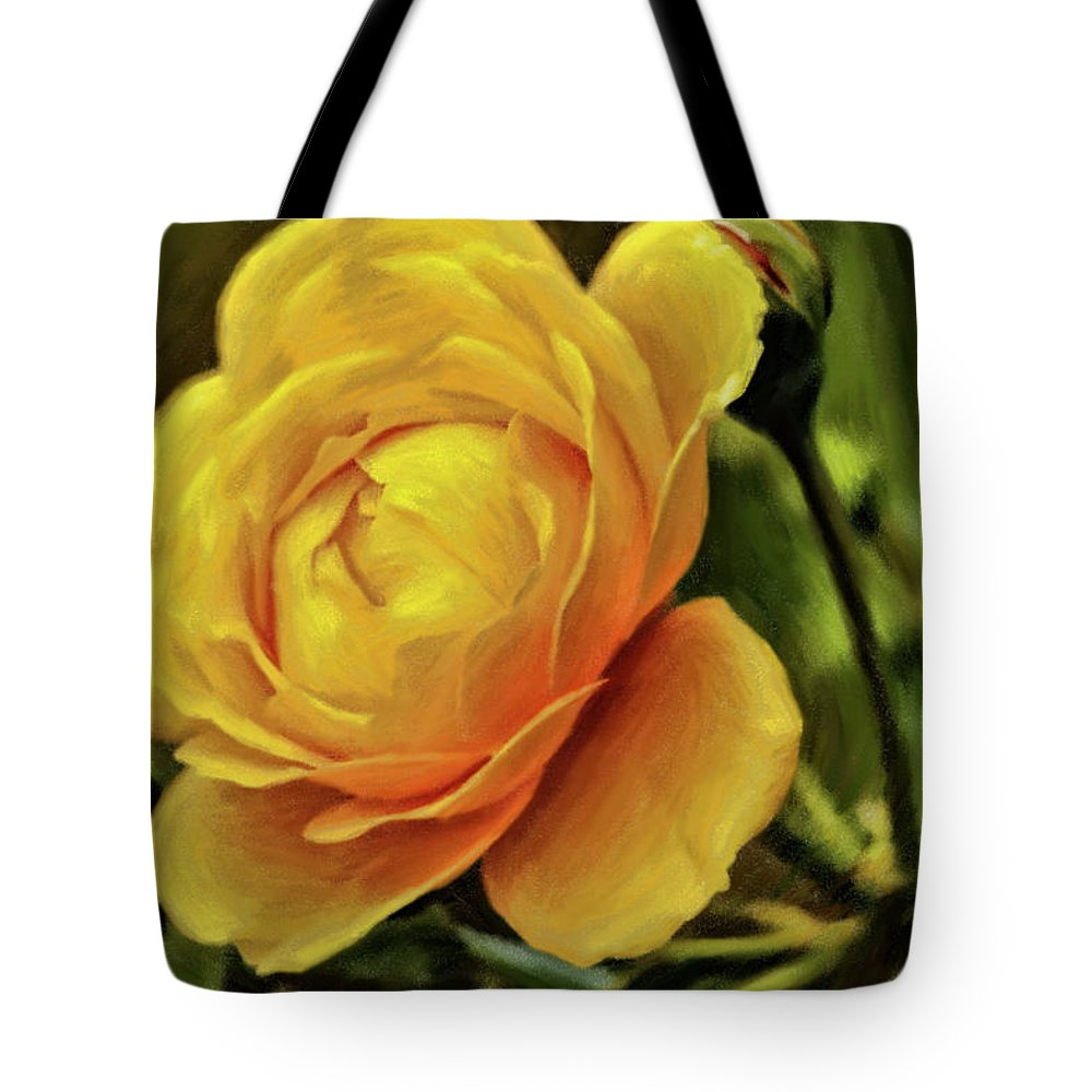 Rose Tote Bag featuring the photograph A Rose Is A Rose Is A Rose by Geraldine Scull